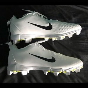 Nike Cleats White And Black